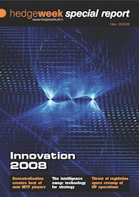 Hedgeweek Special Report on Innovation 2008