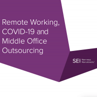 Remote Working, COVID-19 and Middle Office Outsourcing
