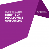 Beyond the numbers: The benefits of middle-office outsourcing