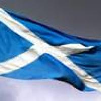 Picture of the Scottish flag