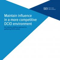 Maintain influence in a more competitive DCIO environment - An industry-shifting approach to gathering DCIO assets